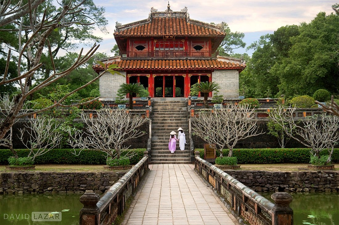 Ancient architecture in Hue, as seen on Vietnam photo tour worskhop