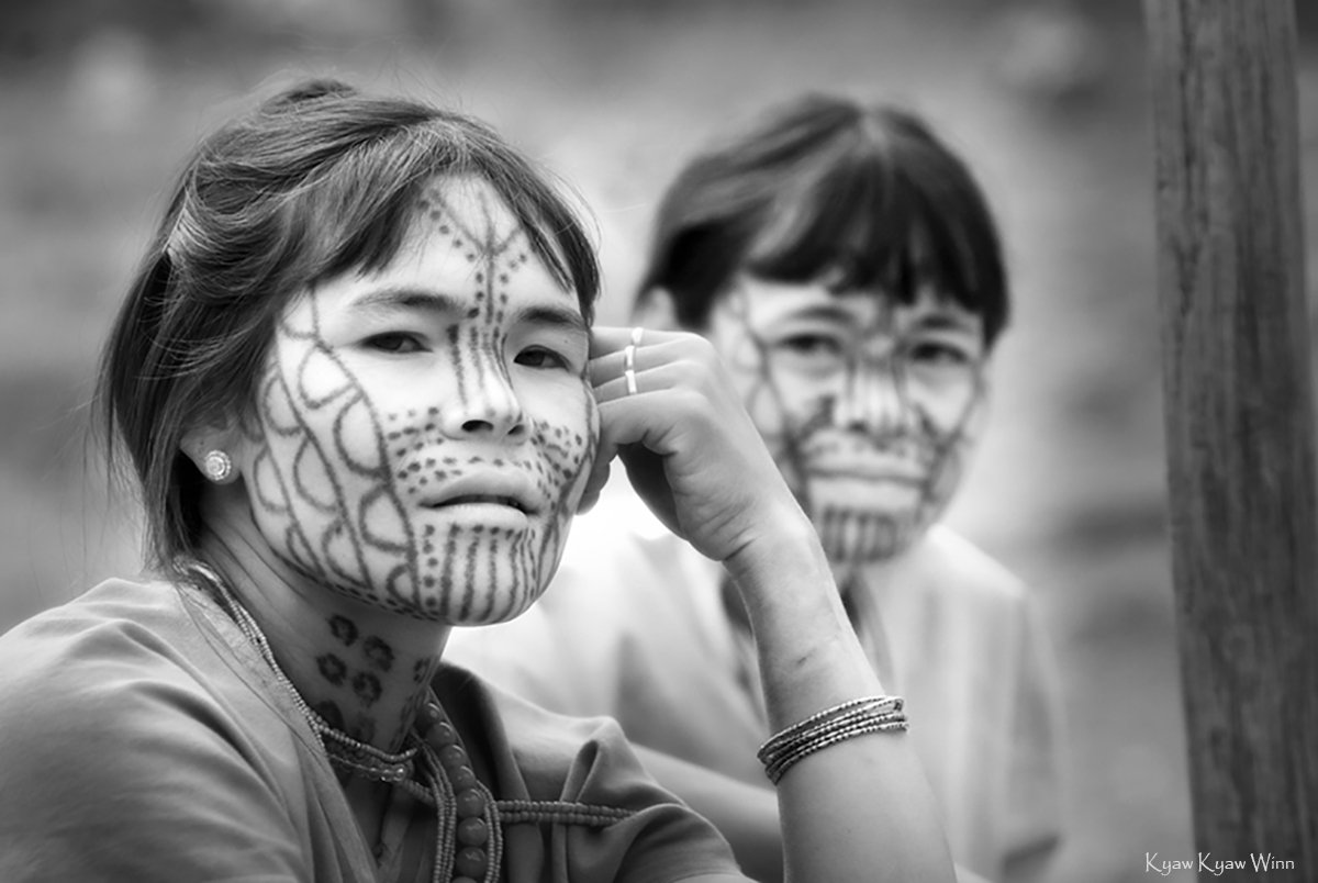 7. Kyaw-Kyaw-Winn_Chin-Woman-Vanishing-Tribe_Myanmar