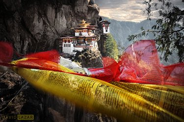 Luminous Bhutan - David Lazar