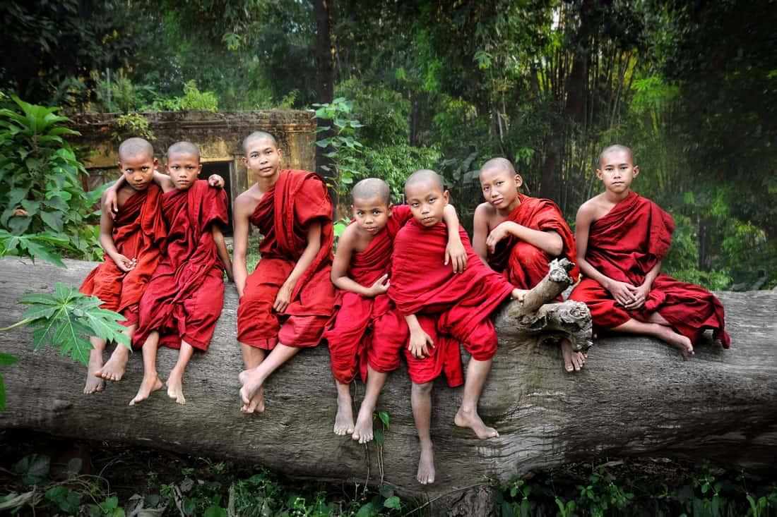 07-David-Lazar-Seven-Monks-on-a-Log