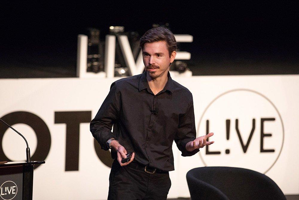 David Lazar Speaking @ Foto Live 2018 in Sydney