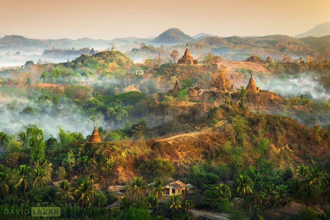 Mrauk U ancient temples, Burma