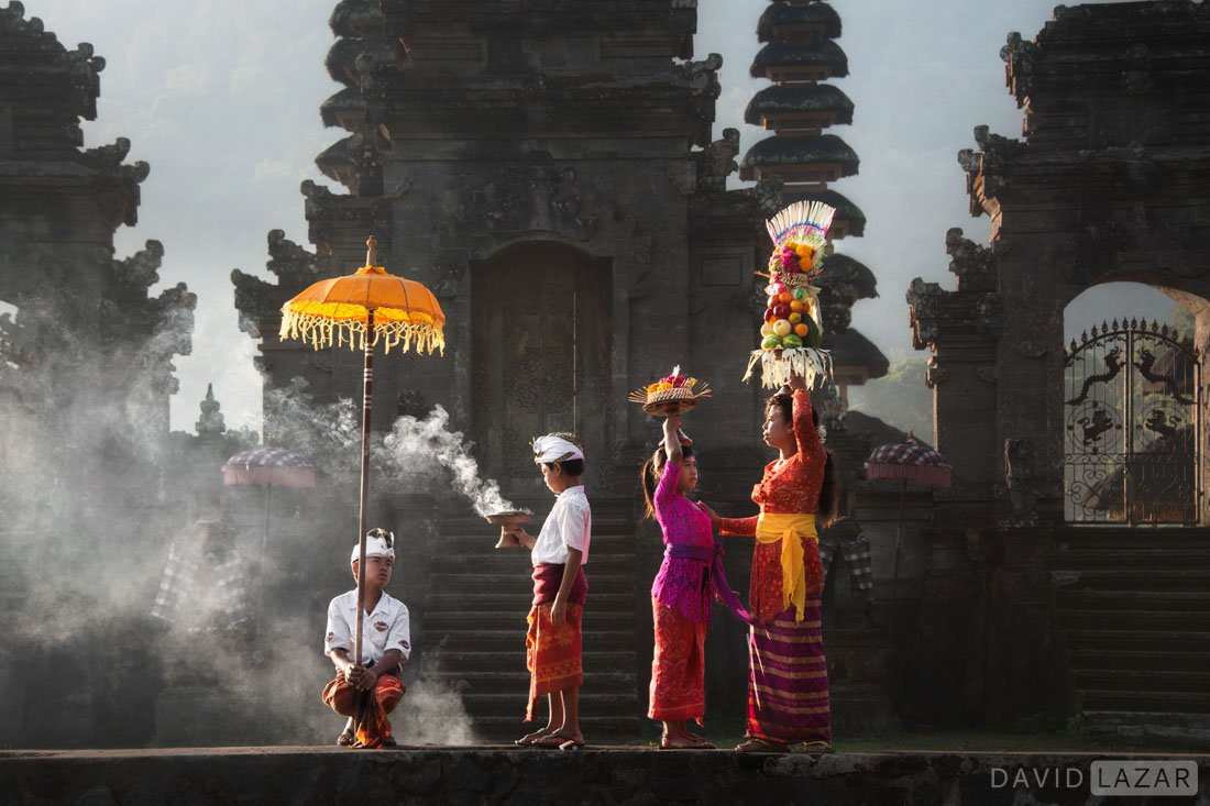 Bali culture of ceremony by