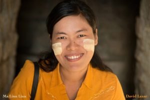 Best guide in Myanmar based in Mrauk U, Ma Linn Linn