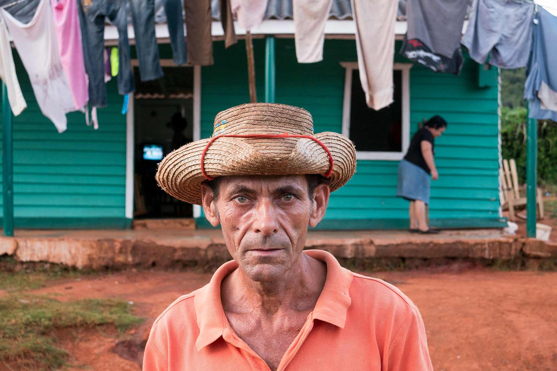 Cuban Tobacco Farmer Vinales