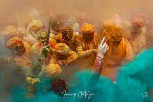 India-alt=Holi-Festival powder taken on India photo tour