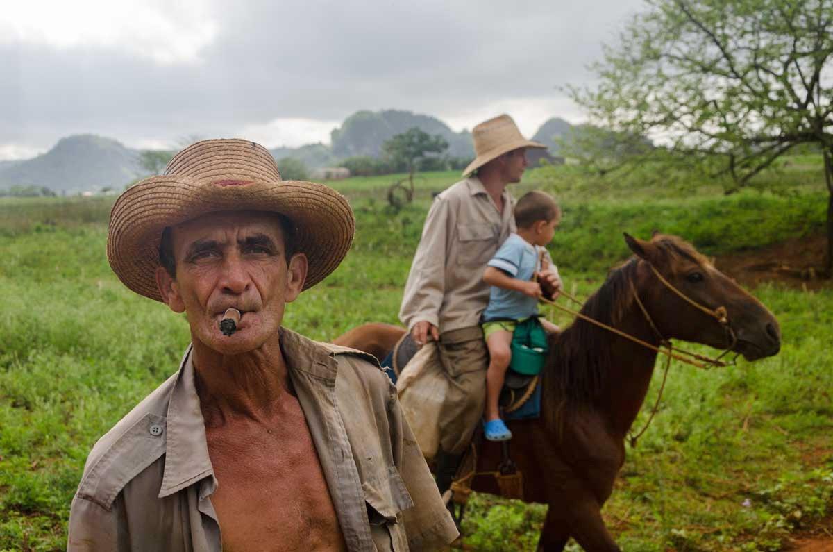Luis Alarcon-alt=Vinales tobacco region of Cuba is the best in the world