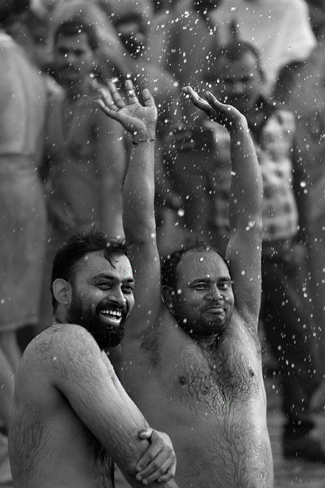 Pilgrims holy dipping in joy at India's 2019 Kumbh Mela