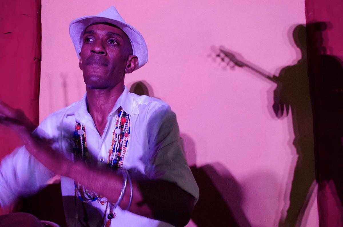 Music scene in Trinidad, captured on Cuba photo tour with Luminous Journeys