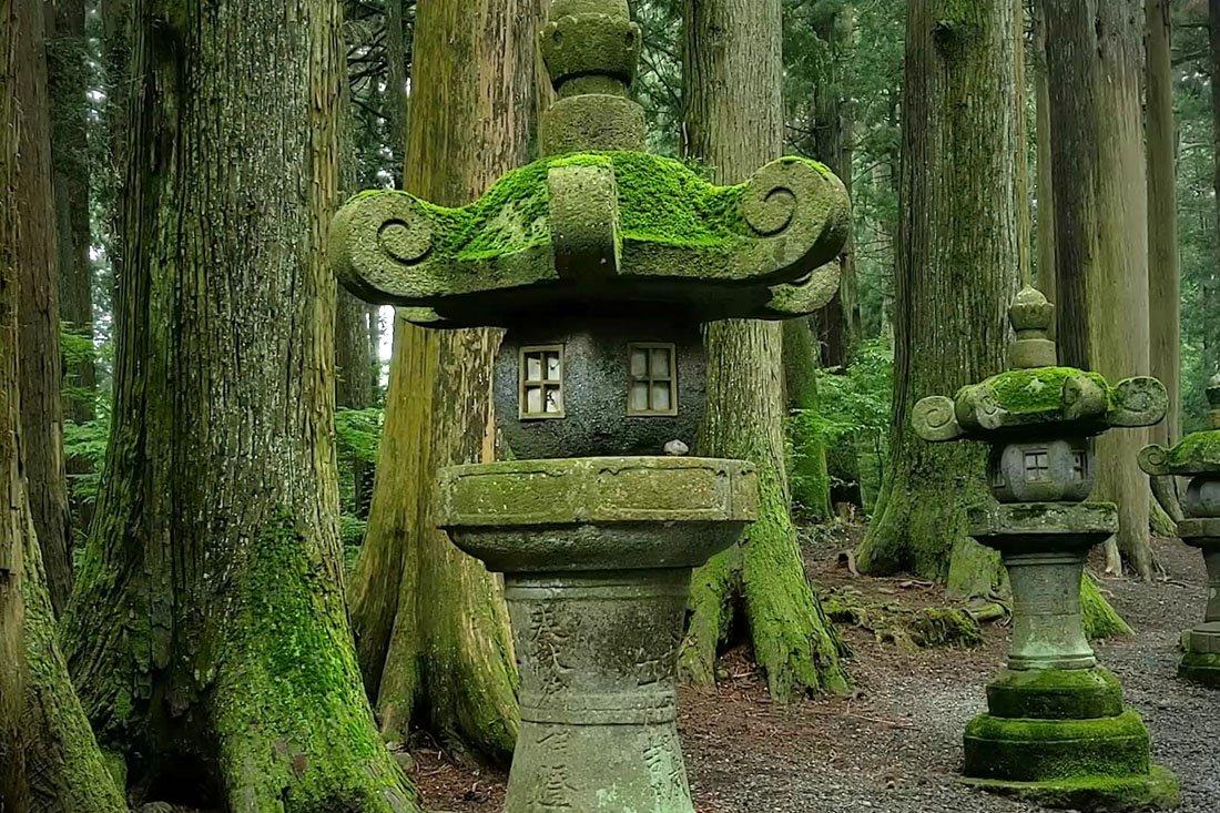 David Lazar - Shinto temple grounds