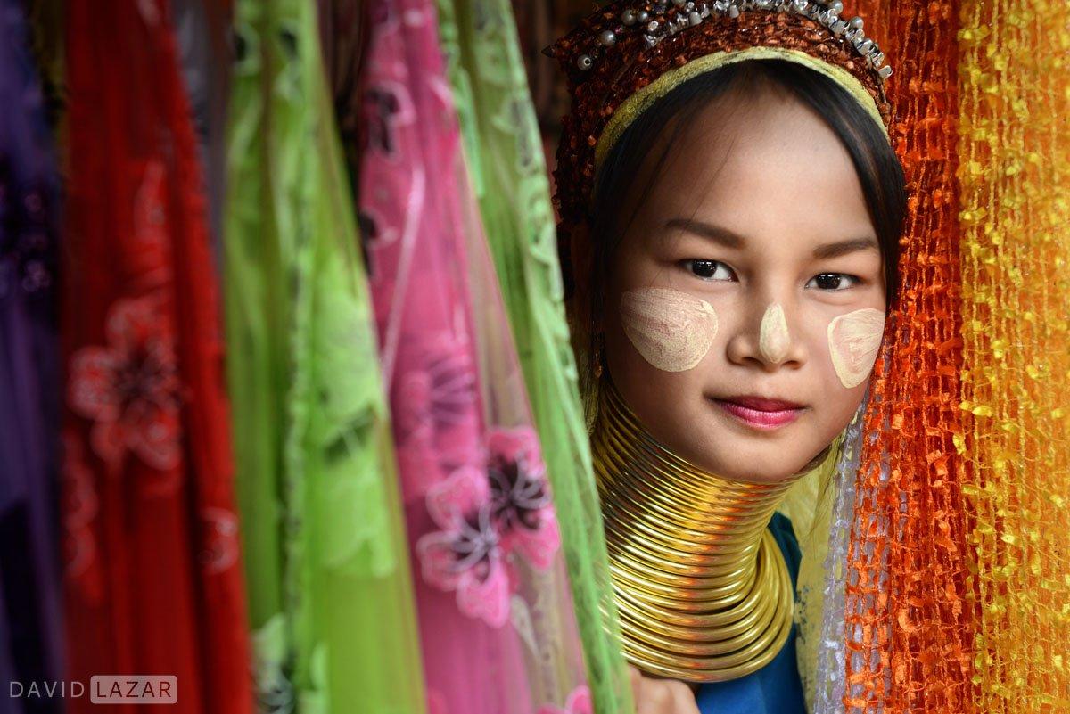 Kayan Padaung beauty in Thailand
