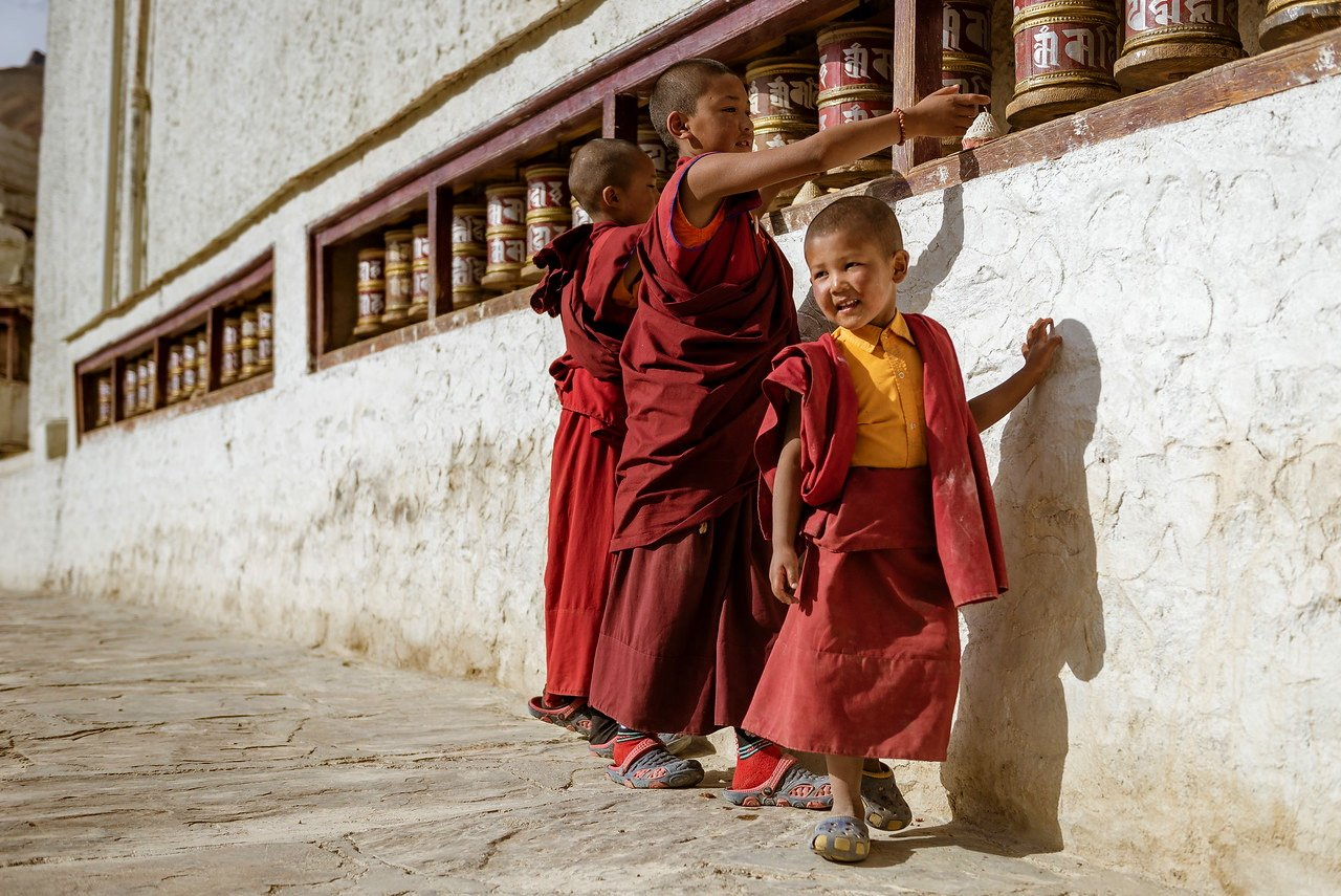 Novice-Monks-Ladakh