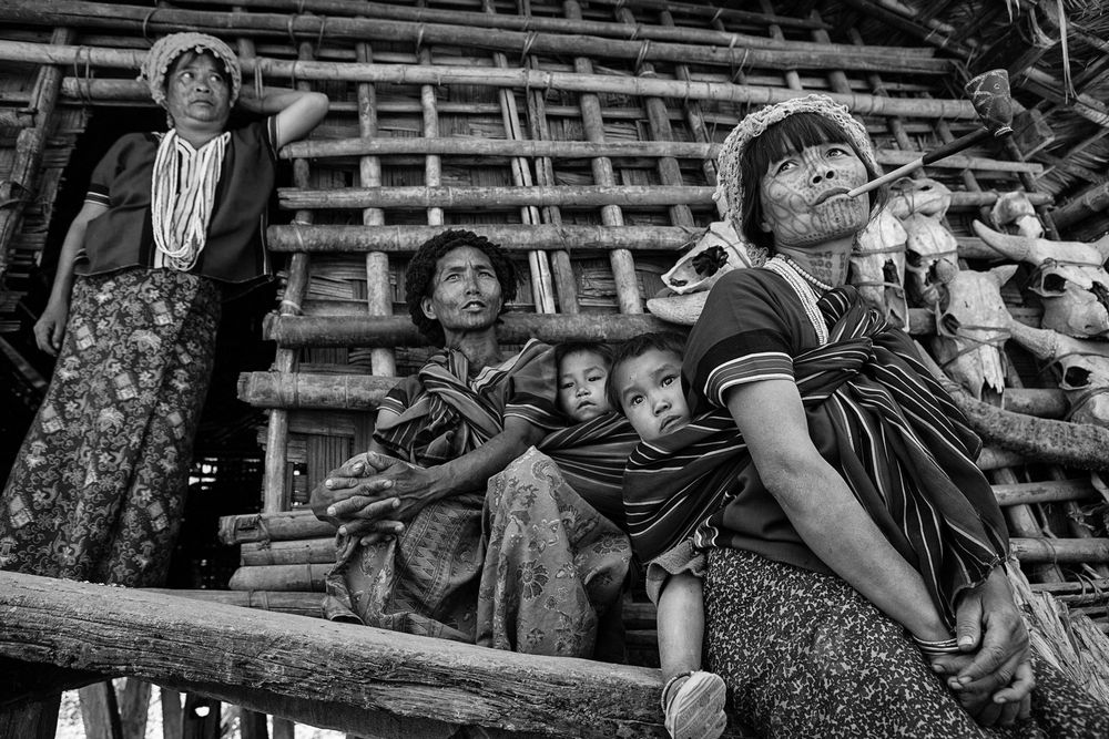 Patho Tribe-Chin Women_Matty-Karp_Myanmar