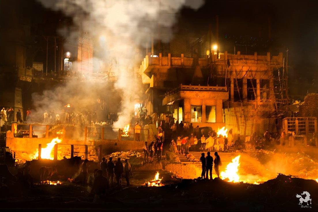 Varanasi Burning Ghats