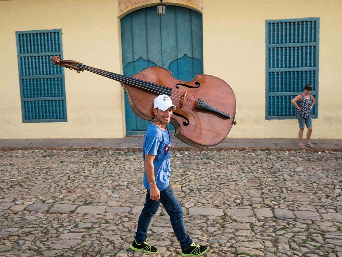 Street music in vibrant Trinidad is favorite Cuba photo workshop location