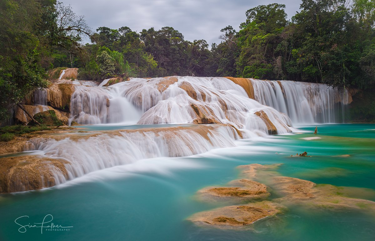 waterfalls-chiapas-mexico-sina-falker_Silky-smooth-turquise-jungle-waterfalls