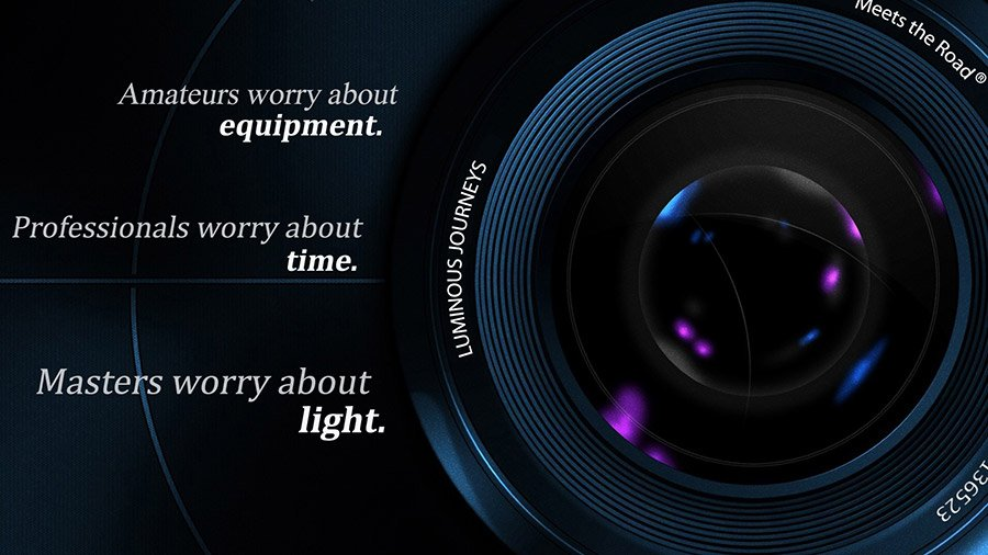 Luminous Journeys lens