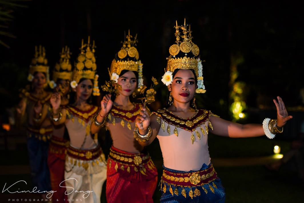 Apsara dancers taken on Cambodia photo tour