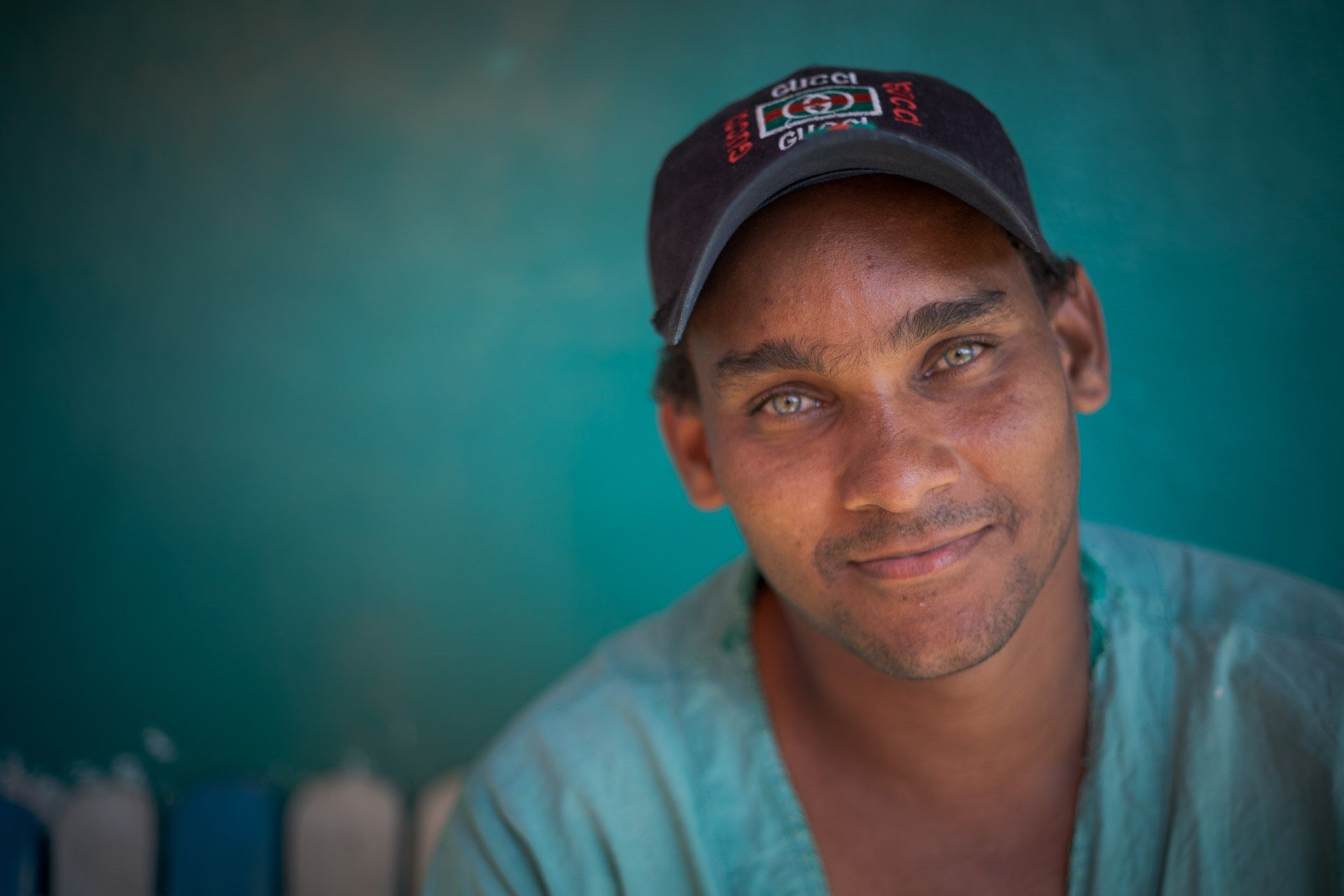 Green eyes taken on Cuba photo tour
