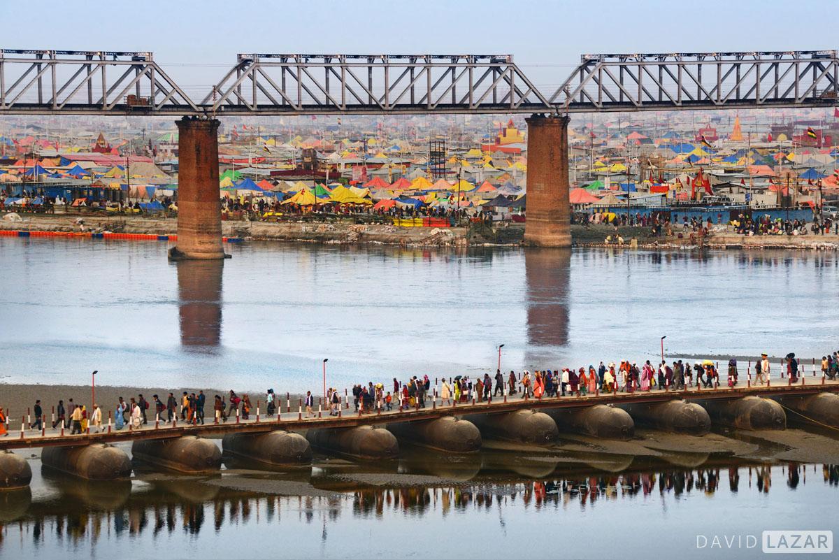 Kumbh Mela 2019 Ganges camps